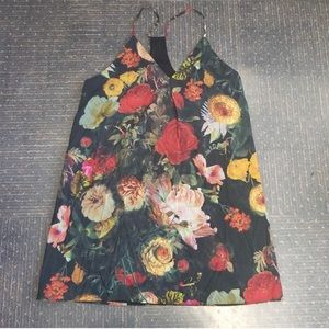Alice and Olivia silk floral dress